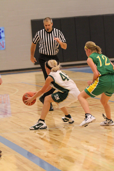 St Maries Girls Varsity basketball vs Lakeland 12-29-2010