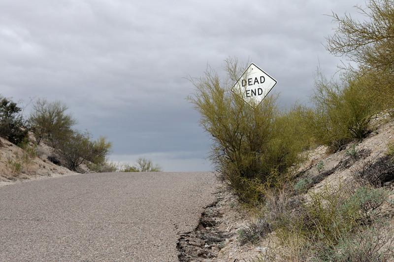 Approach to the Hacienda del Desierto, Tucson.