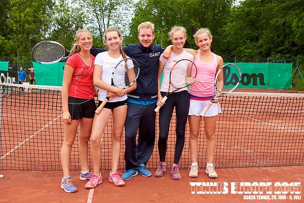 Tennis Europe 2015, Asker Tennis 27.-28.6.15