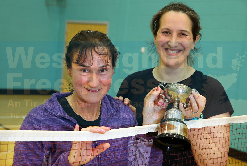 Winners - Susan Hunter and Joan Columbine.