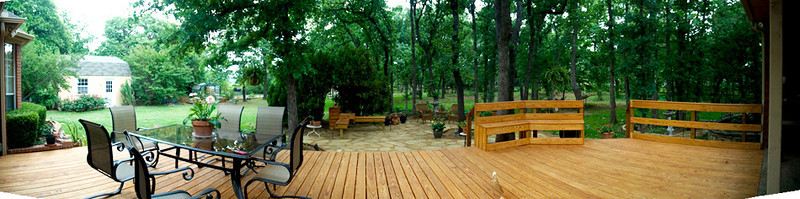 Polly and Jerrys new yard