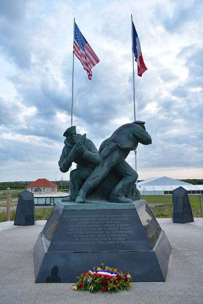 Navy monument at Utah Beach