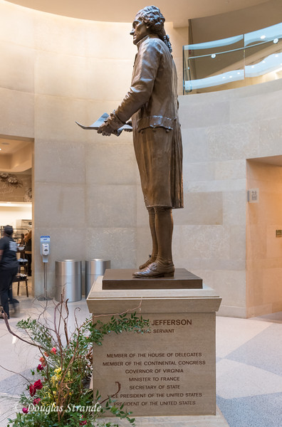 Jefferson Statue at Capitol Building