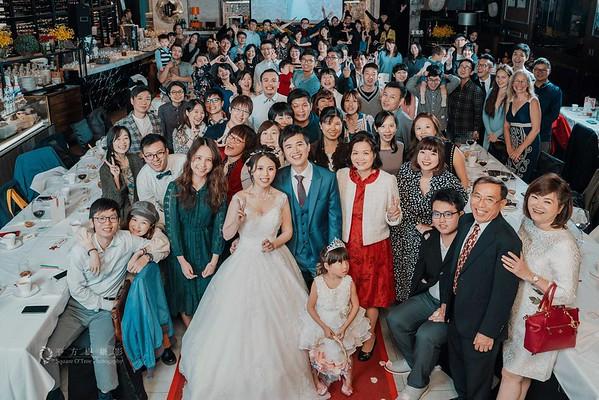 Ju & Chen @ Da Antonio 大安東尼義大利餐廳101 | 婚禮