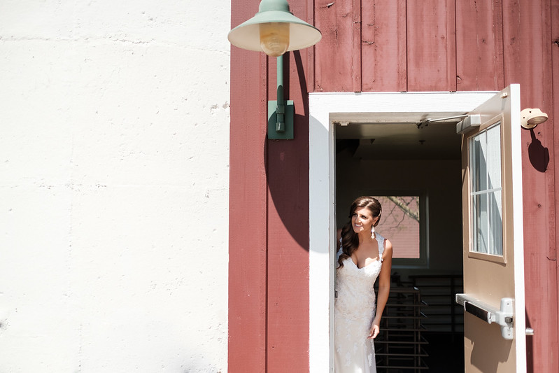 Hoosier Grove Barn Spring Wedding