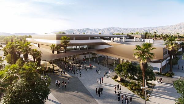 Coachella Valley Arena Groundbreaking