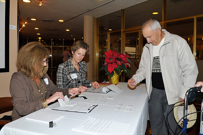 20121204 Volunteer Reception