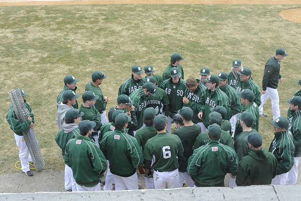 BABSON BASEBALL FIRST GAME WPI  SAT 3.19.2011