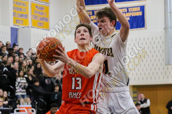Oliver Ames-Hanover Boys Basketball - 02-24-20
