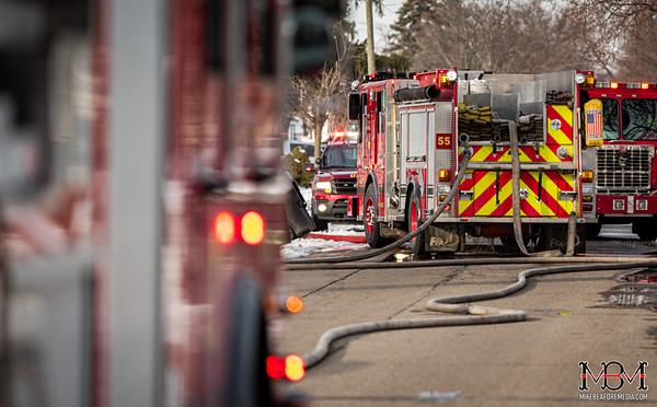 Detroit MI, House Fire 1-22-2020 #2