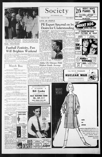 Daily Trojan, Vol. 57, No. 10, October 01, 1965