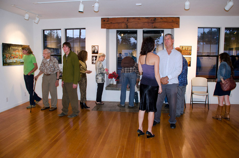 Moe's Day Celebration - Art Exhibition and music-dance party (Moshe Amadeus King)