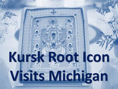 Kursk Root Icon Visits Michigan