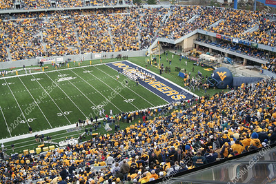 WVU vs Connecticut - Pregame Formations