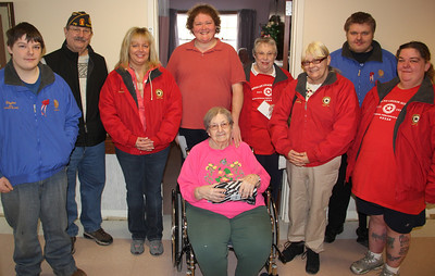 Tamaqua American Legion Visits Residents, Hometown Nursing and Rehabilitation Center, Hometown (1-26-2014)