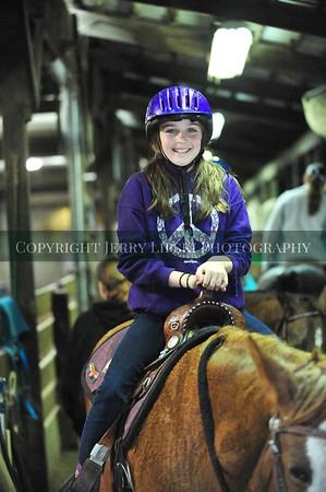 2015 April 19 -  Barrel Racing Indoors