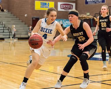 2018-02-13 Dixie Girls Basketball - JV Game