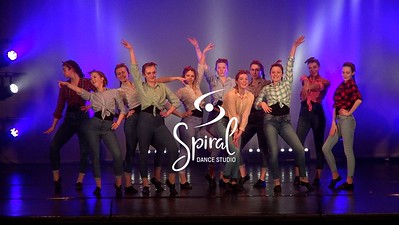 Spiral Dance Studio 'Read All About It'