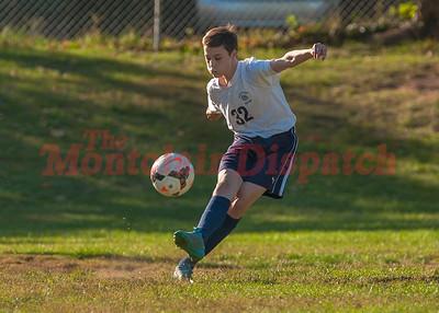 MHS JV Boys Soccer v Seton Hall 10-11-2016