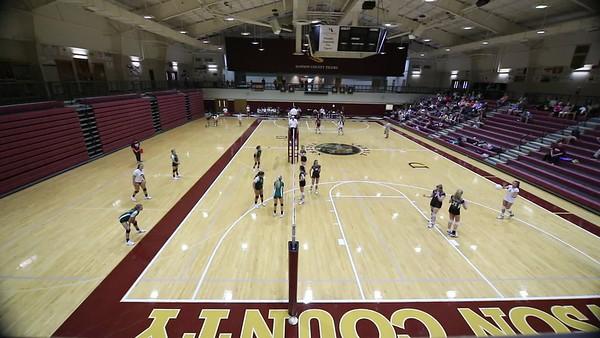 CHS & JV Volleyball vs NH & Dawson '17