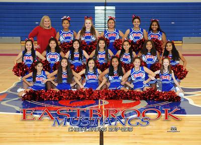 Eastbrook Middle Cheer