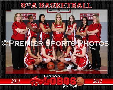 2011-12 Lomax Junior High Girls Basketball
