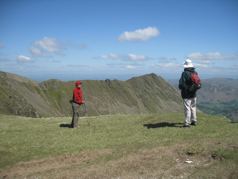Striding Edge from Nethermost Pike