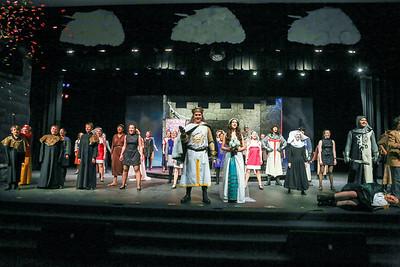 WP theatre Spamalot 2014