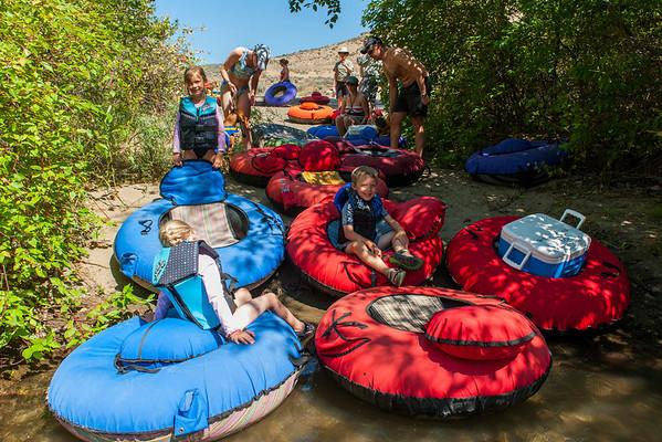 Yakima River Rafting Trip - July 2012