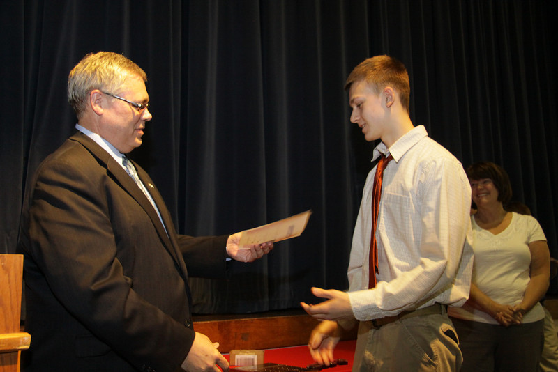 Awards Night 2012 - Student of the Year: Honors Chemistry