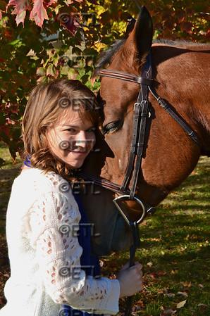 Husker Equestrian Team Portraits