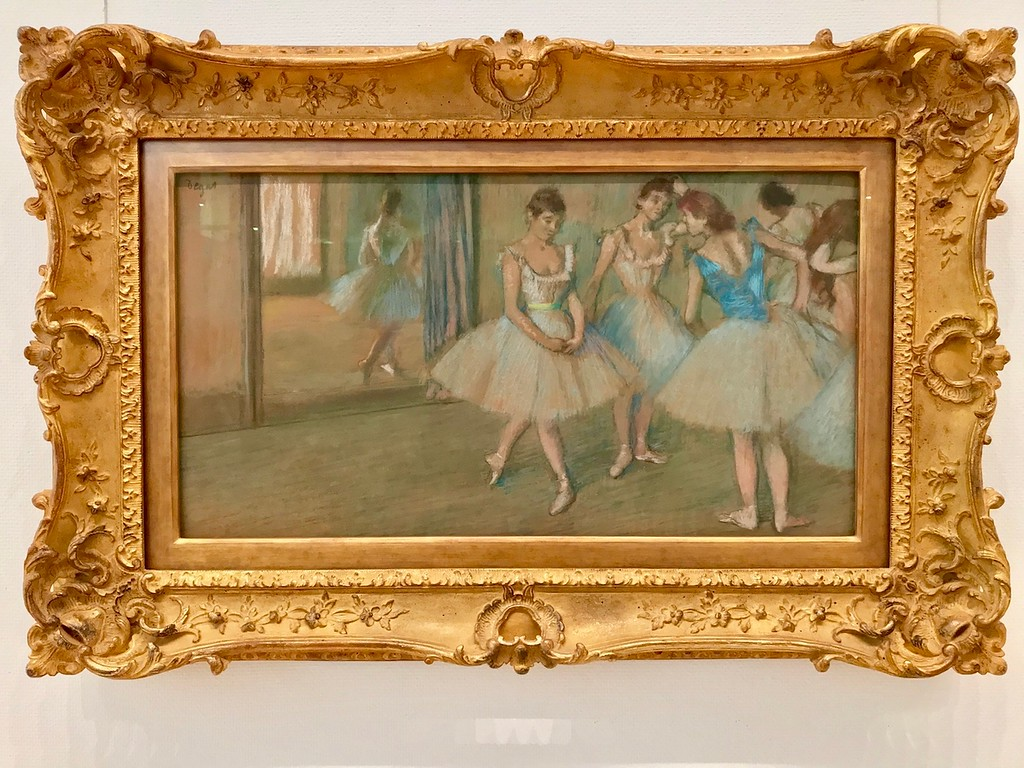 Ballet dancers by Edgar Degas.