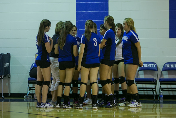 Trinity Volleyball - Aug 2014
