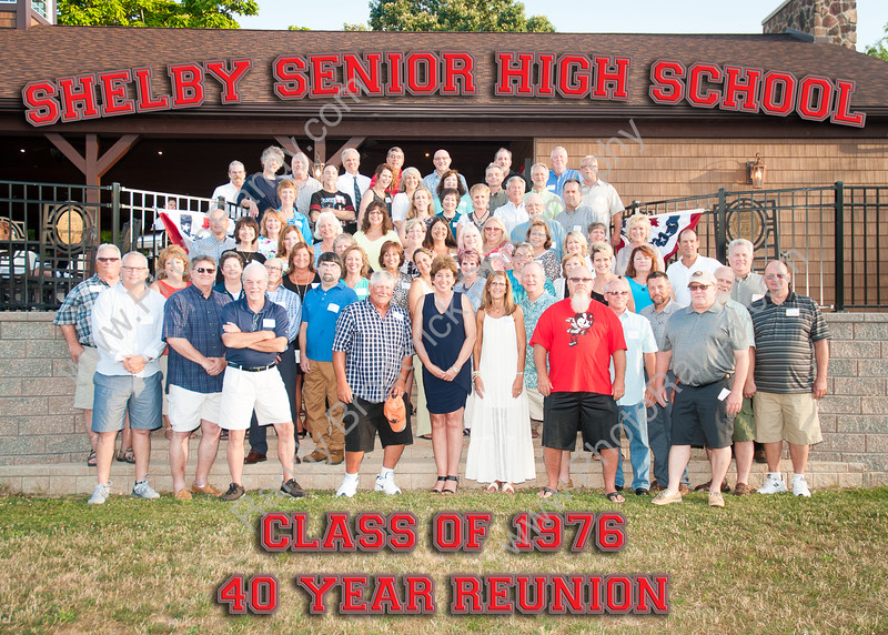 SHS Class of 1976 40-Year Reunion