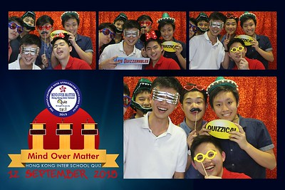 Mind Over Matter Inter-School Quiz 12 Sep 2015