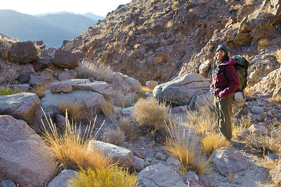Canyoneering Death Valley Nov 2009