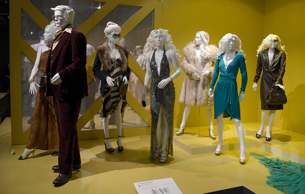 . Costumes from American Hustle. FIDM/Fashion Institute of Design & Merchandising is hosting the Art of Motion Picture Costume Design, which features 100 costumes from over 20 selected films, including Oscar nominated designs. Los Angeles, CA. February 09, 2014 (Photo by John McCoy / Los Angeles Daily News)