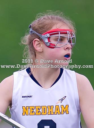 4/26/2011 - Girls Varsity Lacrosse - Wellesley vs Needham