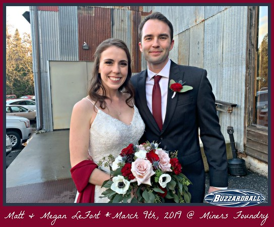 MARCH 9TH, 2019 | Matt and Megan LeFort
