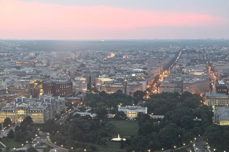 Washington Monument Sunset  604