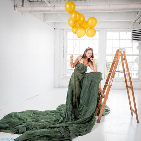 Parachute in Studio