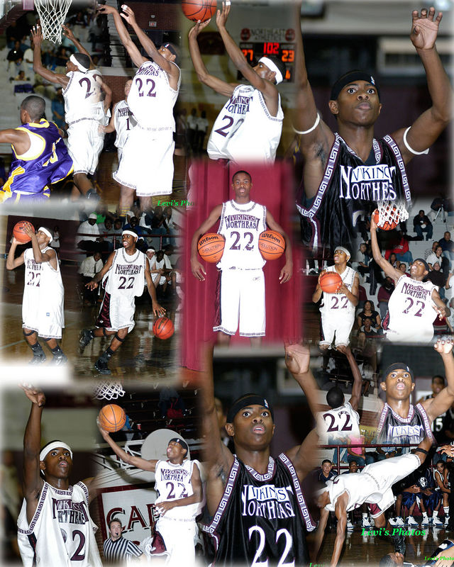 NEA BBall Collages