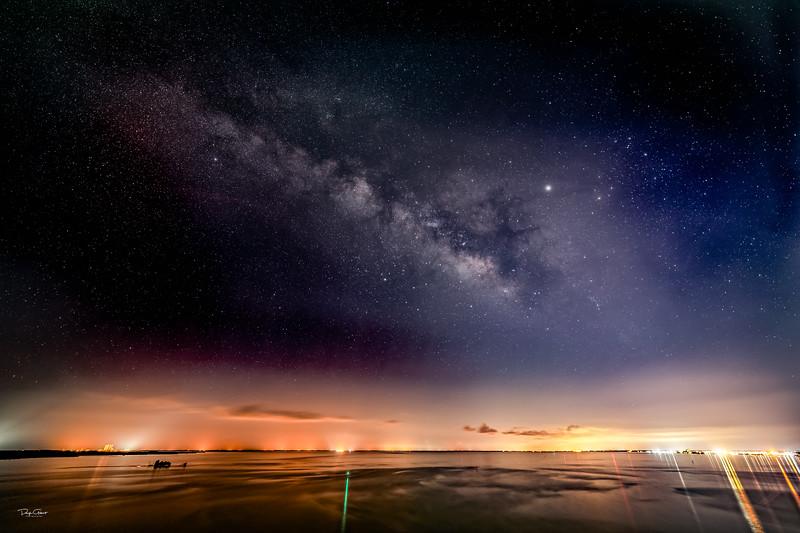 """Indian River Lagoon Milky Way"""