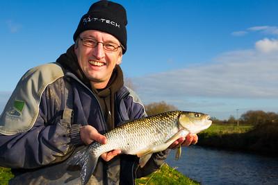 Jamie Rich Chub Fishing