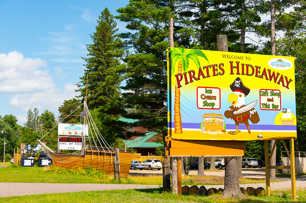 2016_0809 TUE Pirates Hideaway at Eagle River, WI