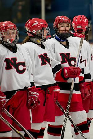 NCHS Girls Hockey Senior Night 2/21/15
