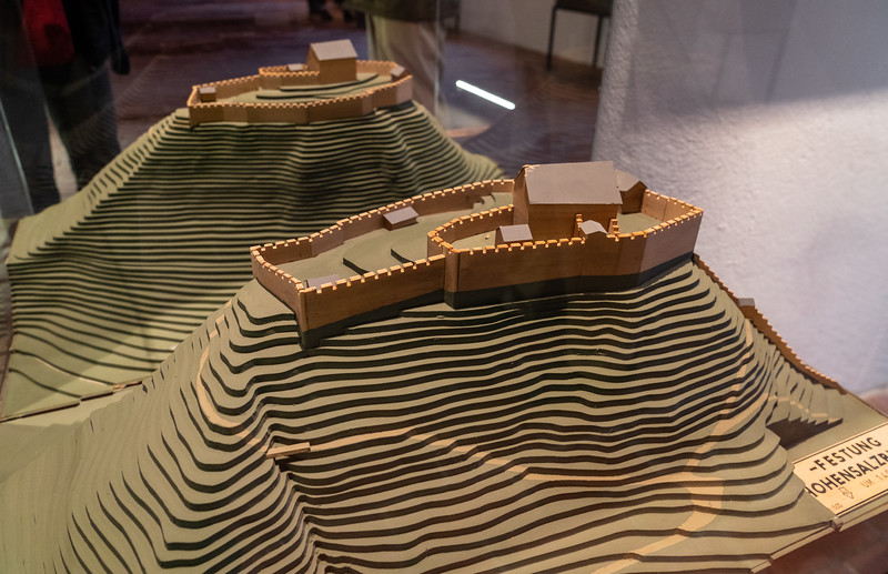 Model of the fortress, early phase