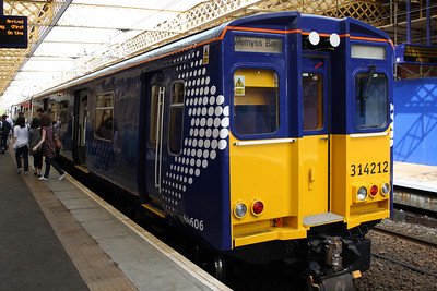 Transport Scotland Branded Class 314, 19th April 2011 And Others
