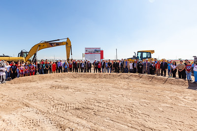 Socorro High School Groundbreaking