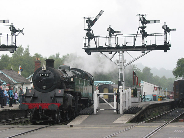 North Yorshire Moors Railway, Grosmont, 2002.